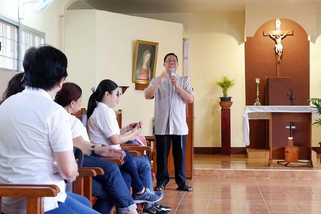 Orientation at Hospicio de San Juan de Dios Bustos, Bulacan